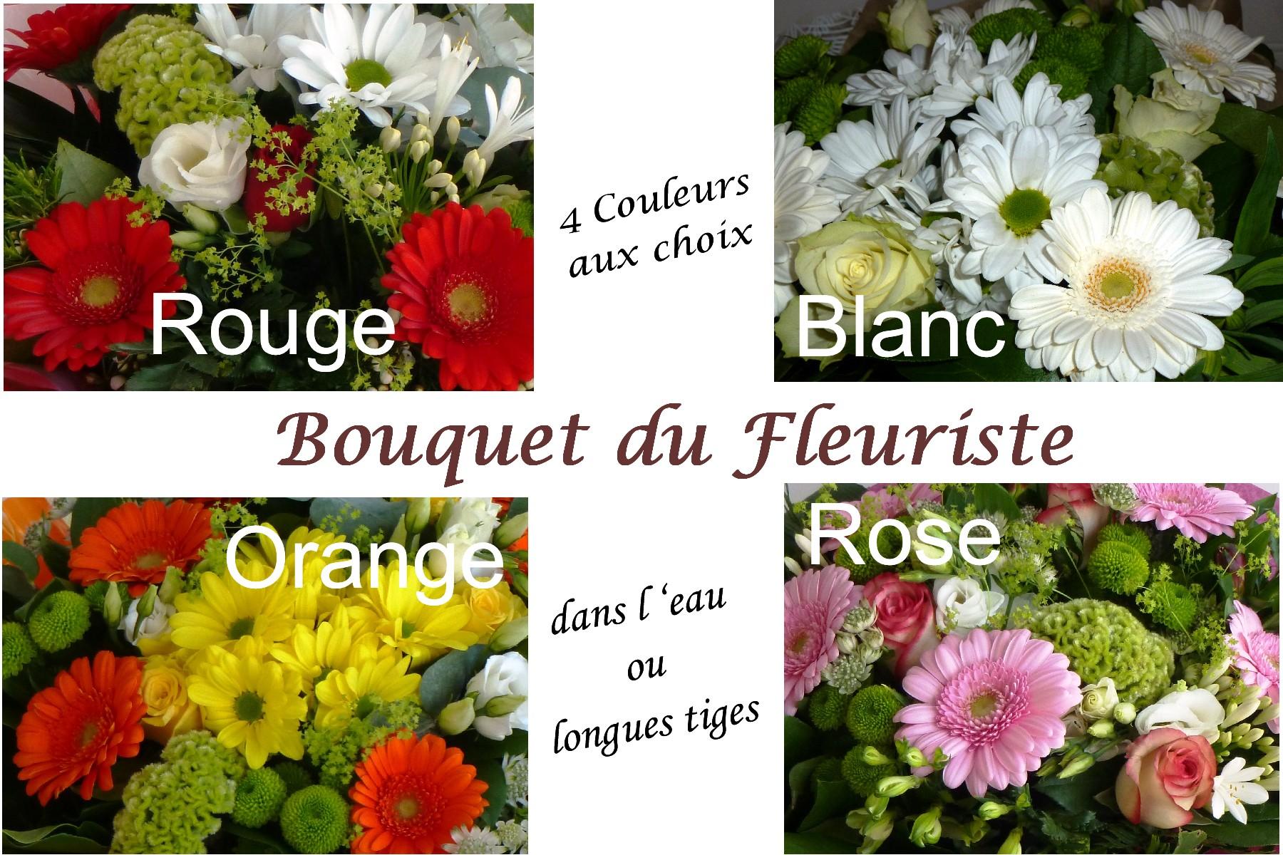 Bouquet du fleuriste LÉNA