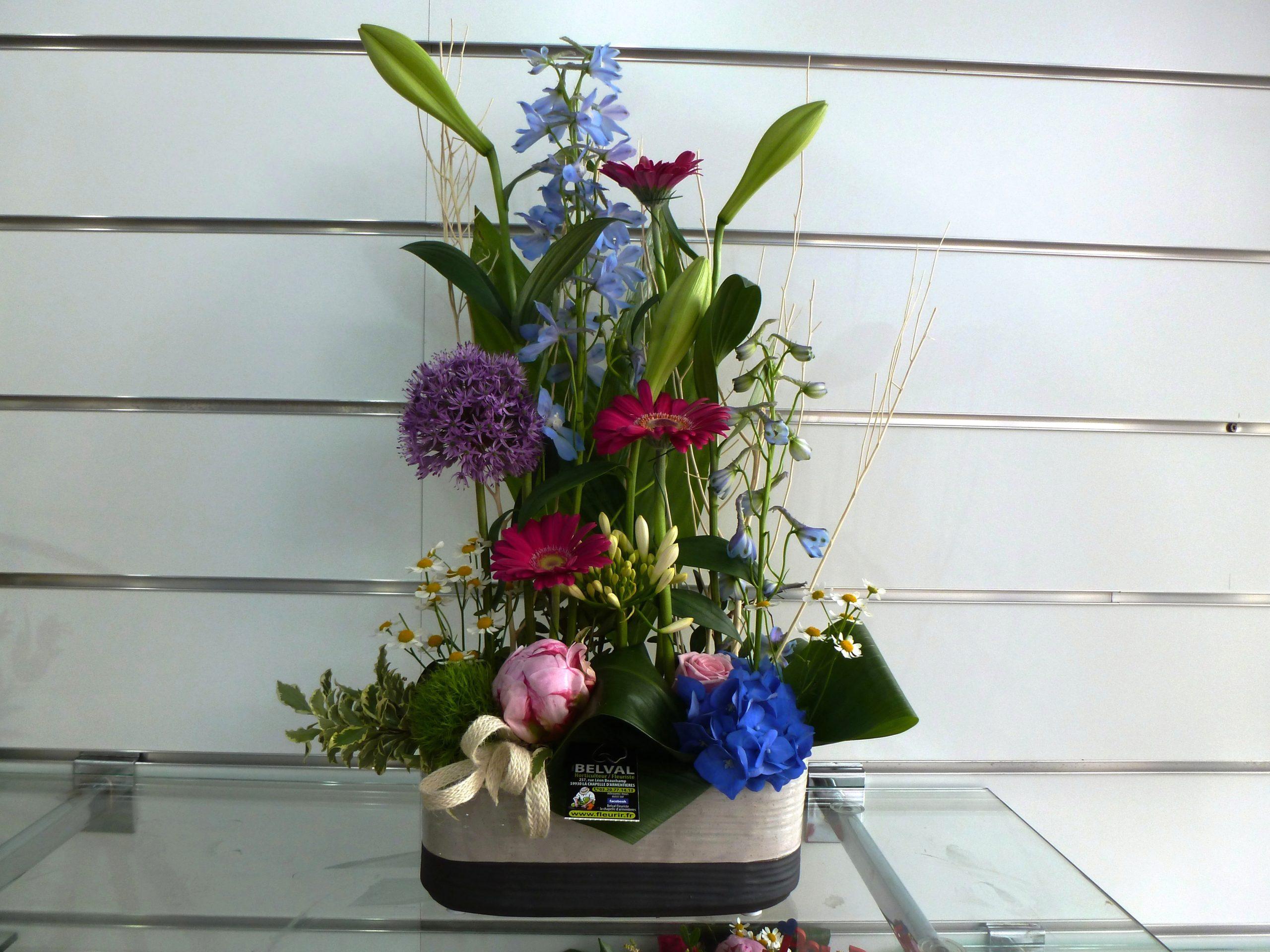 Composition de fleurs INÈS
