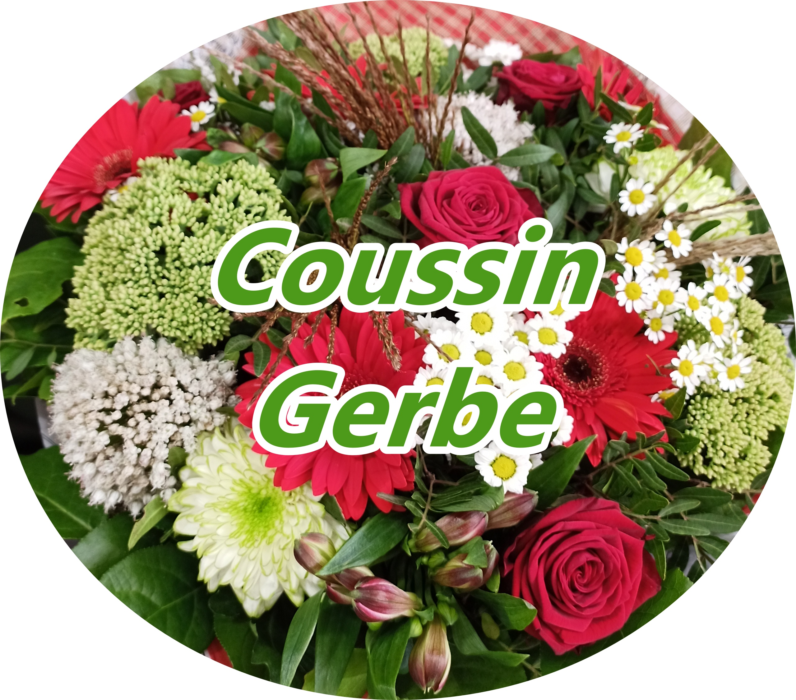 Coussin, Gerbe,