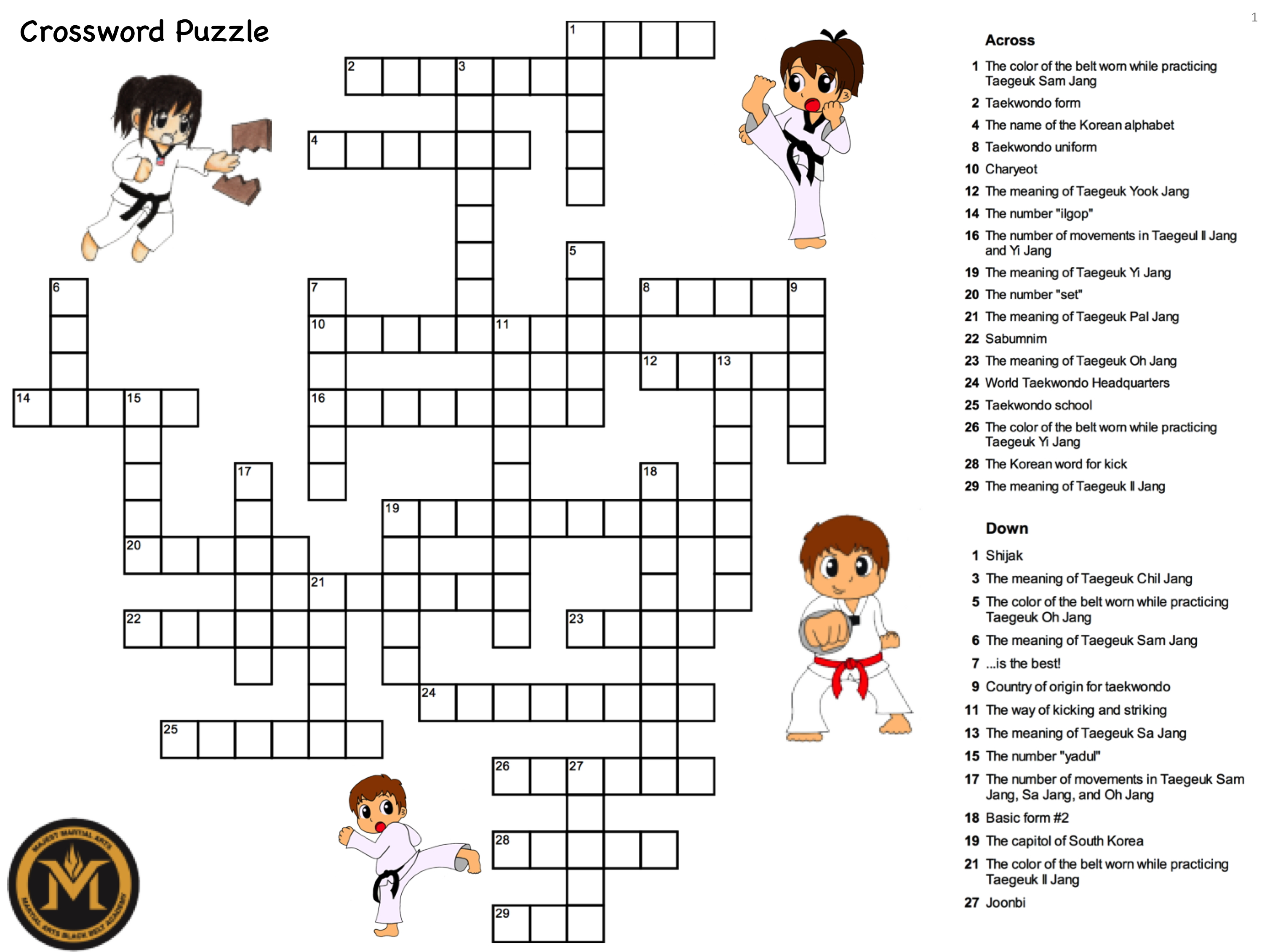 Wordsearch Worksheet