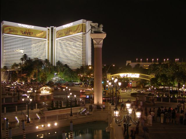 The Mirage Hotel Las Vegas