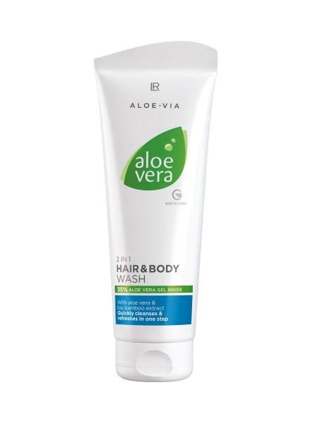 LR ALOE VIA Aloe Vera 2 in 1 Hair & Body Wash