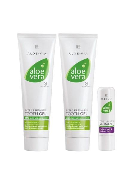 LR ALOE VIA Aloe Vera Oral Care Set