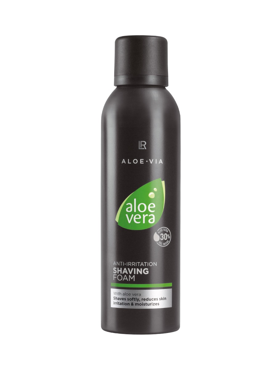 LR ALOE VIA Aloe Vera Anti-Irritation Shaving Foam