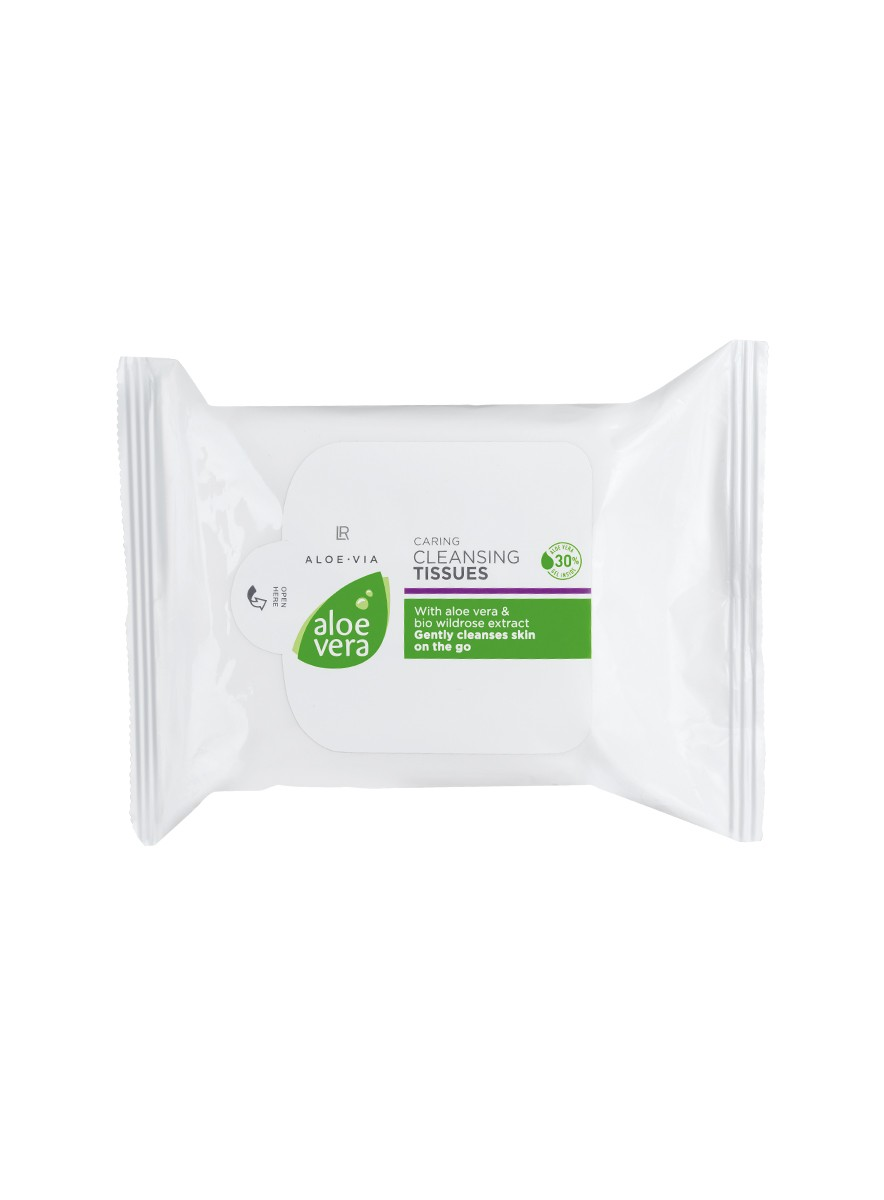 LR ALOE VIA Aloe Vera Caring Cleansing Tissues