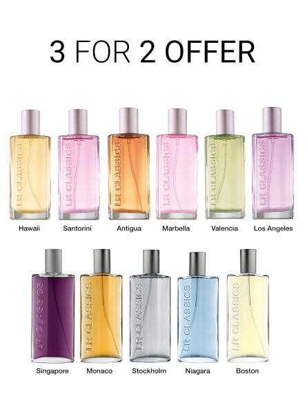 LR Classics Eau de Parfum 3 for 2 Offer