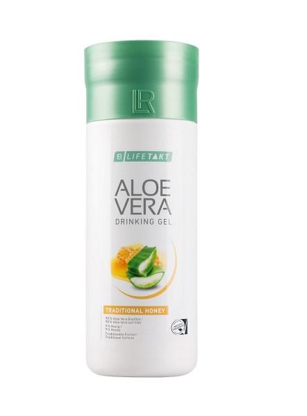 LR LIFETAKT Aloe Vera Drinking Gel Traditional Honey | Aloë Vera Drinking Gel Honing