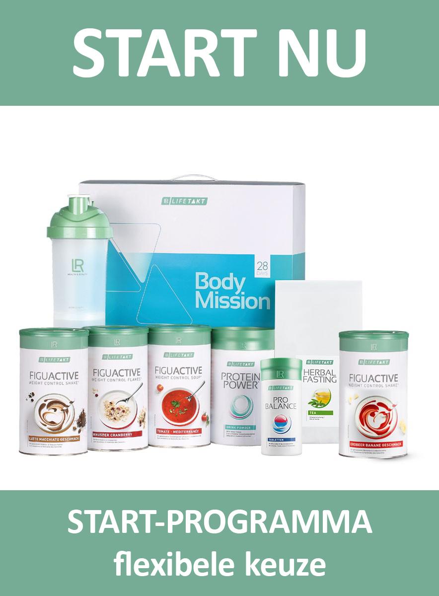 LR LIFETAKT 28 Days Body Mission Start Flex FiguActive Weight Management Control FiguActiv Maaltijdvervangers