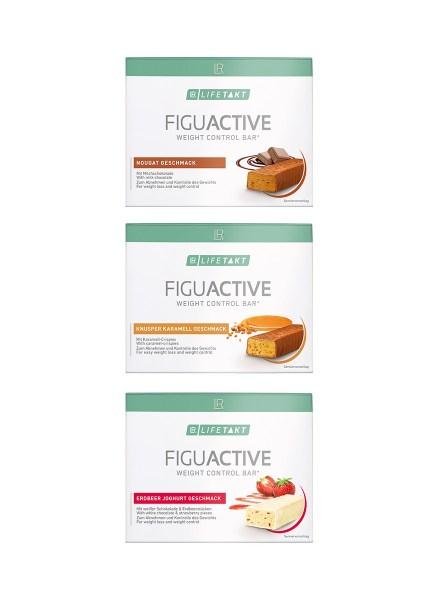 LR LIFETAKT FiguActive Bars Weight Control Bar FiguActiv Reep Maaltijdreep - Set van 3 dozen naar keuze
