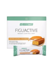 LR LIFETAKT FiguActive Weight Control Bar Crunchy Caramel FiguActiv Reep Maaltijdreep