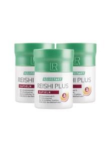 LR LIFETAKT Rheishi Plus Capsules - Reishi Plus Set van 3