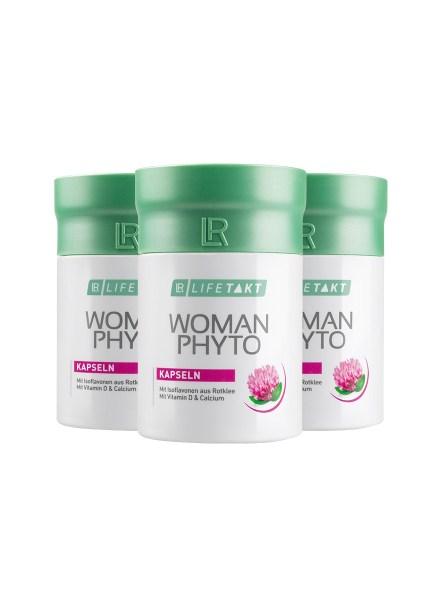 LR LIFETAKT Woman Phyto Capsules - Set van 3 - menopauze