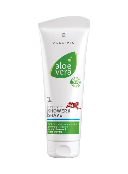 LR ALOE VIA Aloe Vera 2 in 1 Shower & Shave