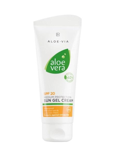 LR ALOE VIA Aloe Vera Sun Gel Cream SPF 20