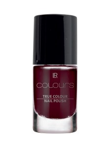 LR COLOURS True Colour Nail Polish No 11 Black Cherry