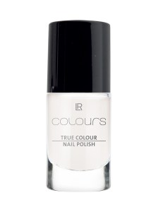 LR COLOURS True Colour Nail Polish No 1 Marshmallow White