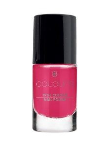 LR COLOURS True Colour Nail Polish No 8 Pink Flamenco