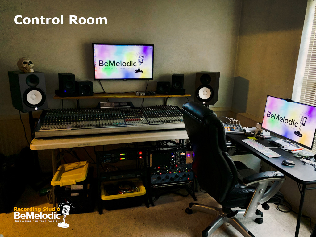 Recording Studio - Control Room