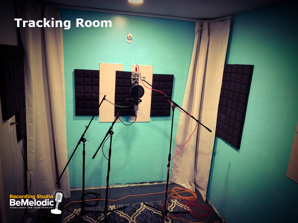 Recording Studio - Tracking Room Vocals