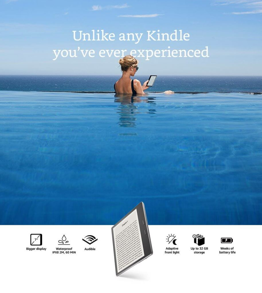 Unlike any kindle you have ever experienced