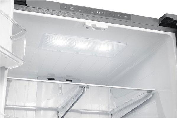 internal refrigerator LED lights