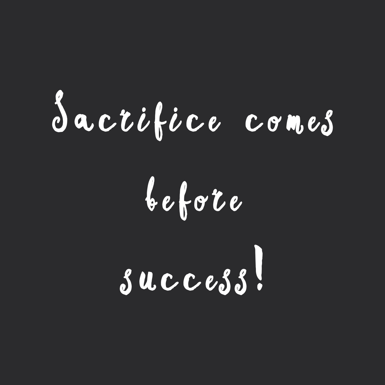 sacrifice-before-success-workout-motivation