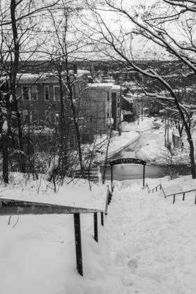 Mission Hill in the snow