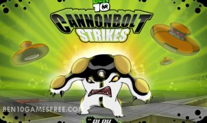 Ben 10 CannonBolt Strikes Game