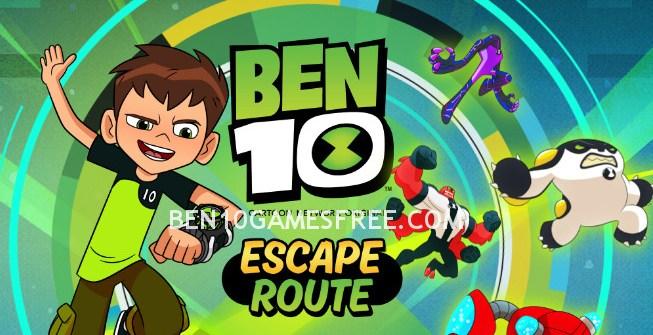 Ben 10 Escape Route Game