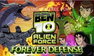 Ben 10 Forever Defense Game