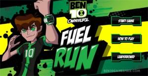 Ben 10 Fuel Run Game