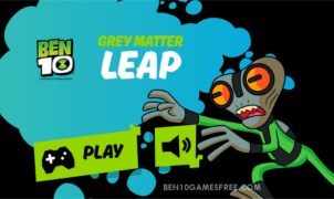 Ben 10 Grey Matter Leap Game