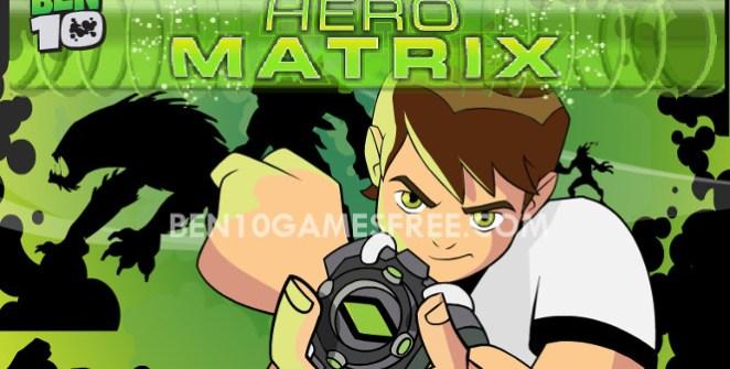 Ben 10 Hero Matrix game