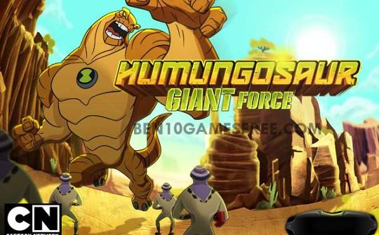 Ben 10 Humungousaur Giant Force Game