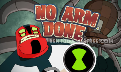 Ben 10 No Arms Done Game