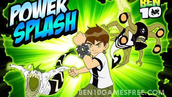Ben 10 Power Splash Game