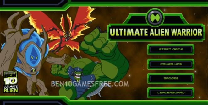Ben 10 Ultimate Alien Warrior Game
