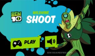 Ben 10 Wildvine Shoot Game