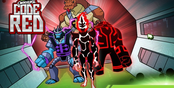 Ben 10 Omniverse Code Red Game
