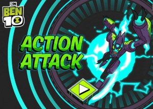 Ben 10 Action Attack Game
