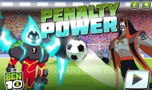 Ben 10 Penalty Power Game