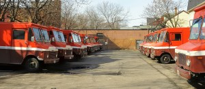 CONCLUDED! - MULTI INDUSTRY AUCTION - 14 Chevy Workhorse P42 & P30