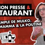 Coach mon Resto : Restaurant & Relations Presse, exemples à la clé