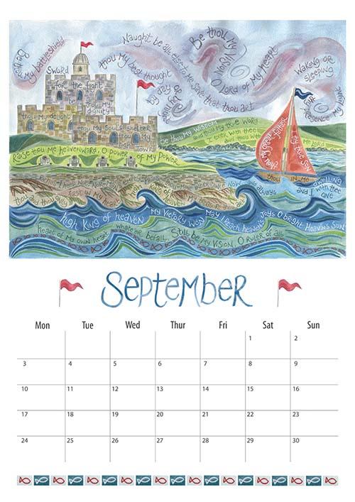 Calendar 2018 Ben And Hannah Dunnett