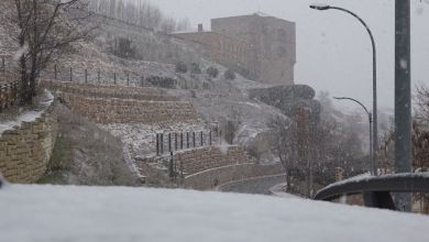 Photo of Las mejores imágenes que ha dejado la nieve en Benavente