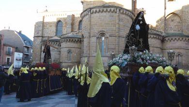 Photo of GALERÍA: Procesión del Encuentro de Viernes Santo en Benavente