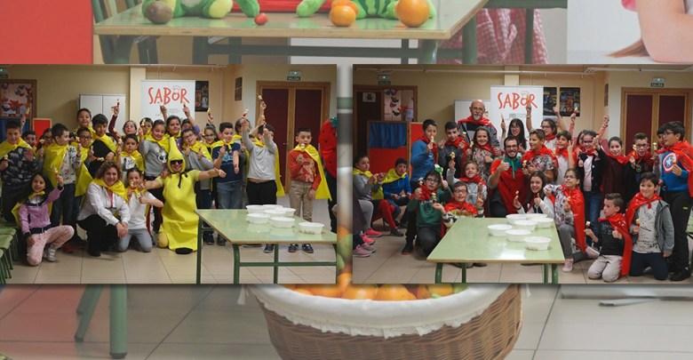 Photo of Degustación de zumos y brochetas de frutas en el CEIP El Pinar