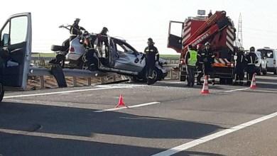 Photo of Dos personas heridas en un accidente en la A-66 a la altura de Cubillos