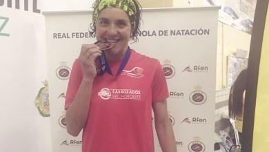 Photo of Pepa García consigue el primer metal nacional de la natación benaventana
