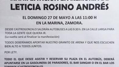 Photo of Autobuses desde Castrogonzalo para acudir a la manifestación de Zamora por Leticia Rosino